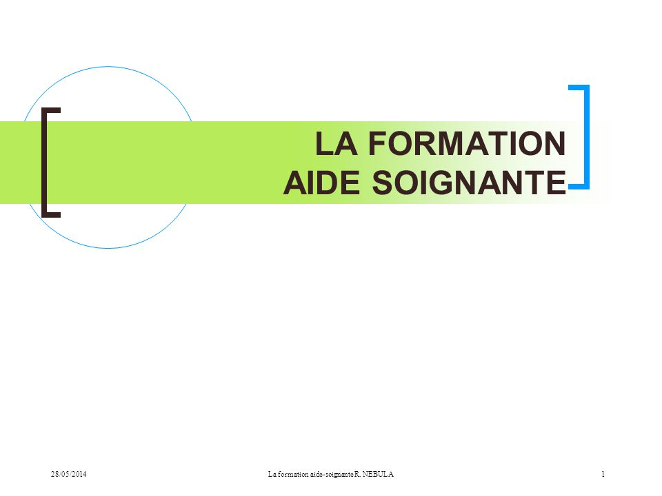formation aide soignante 13