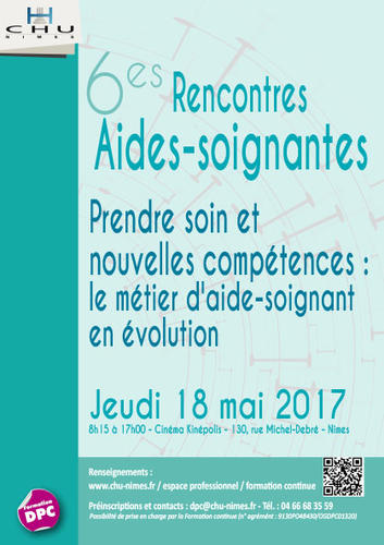 formation aide soignante 2017
