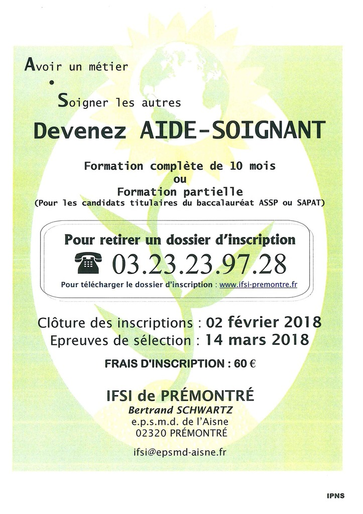 formation aide soignante 57