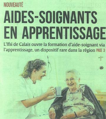formation aide soignante bethune
