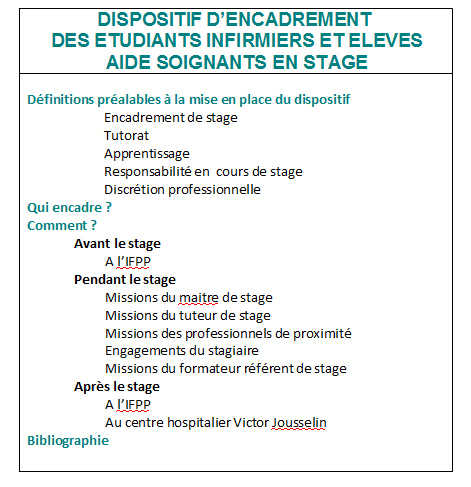 formation aide soignante et stage