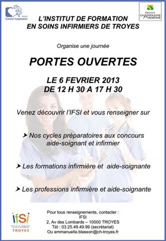 formation aide soignante ifsi troyes