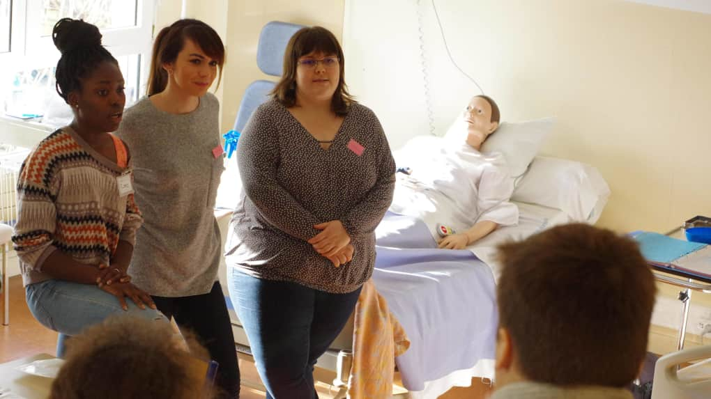 formation aide soignante niort