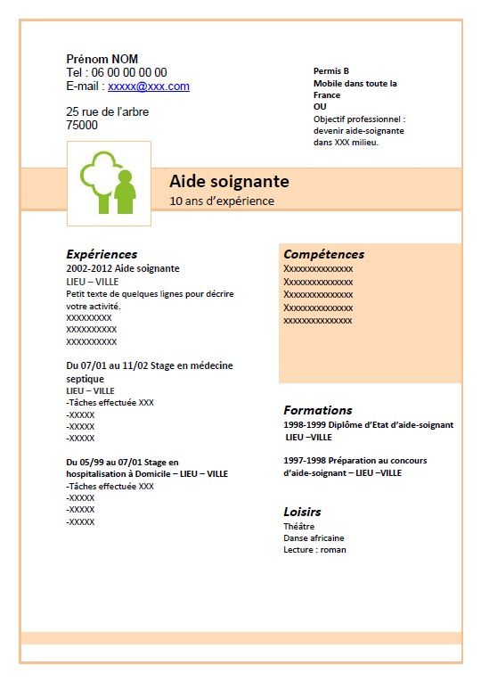 formation aide soignante stage