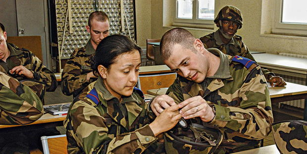 formation infirmiere armee