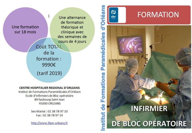 formation infirmiere bloc operatoire