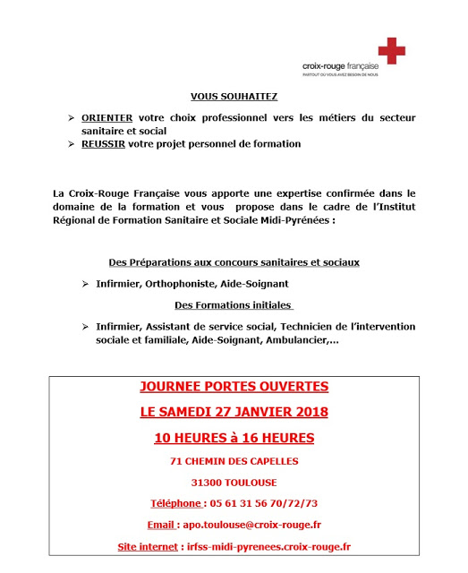 formation infirmiere croix rouge