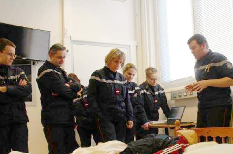 formation infirmiere pompier