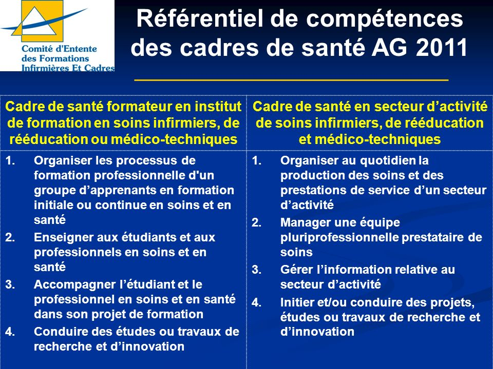 formation infirmiere reeducation