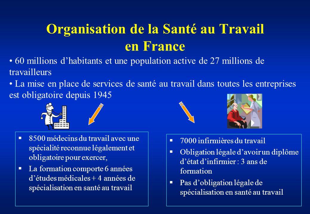 formation infirmiere sante au travail paris