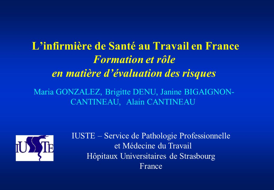 formation infirmiere travail