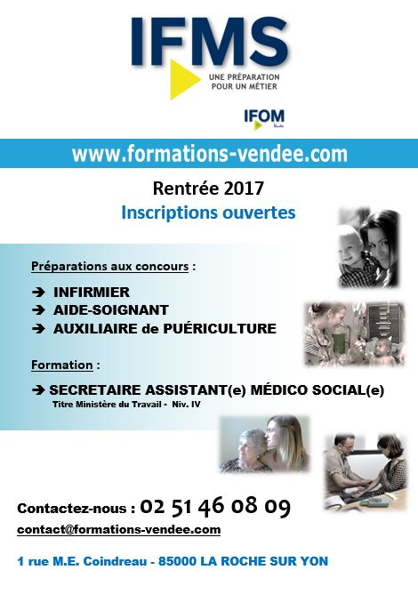 formation infirmiere vendee