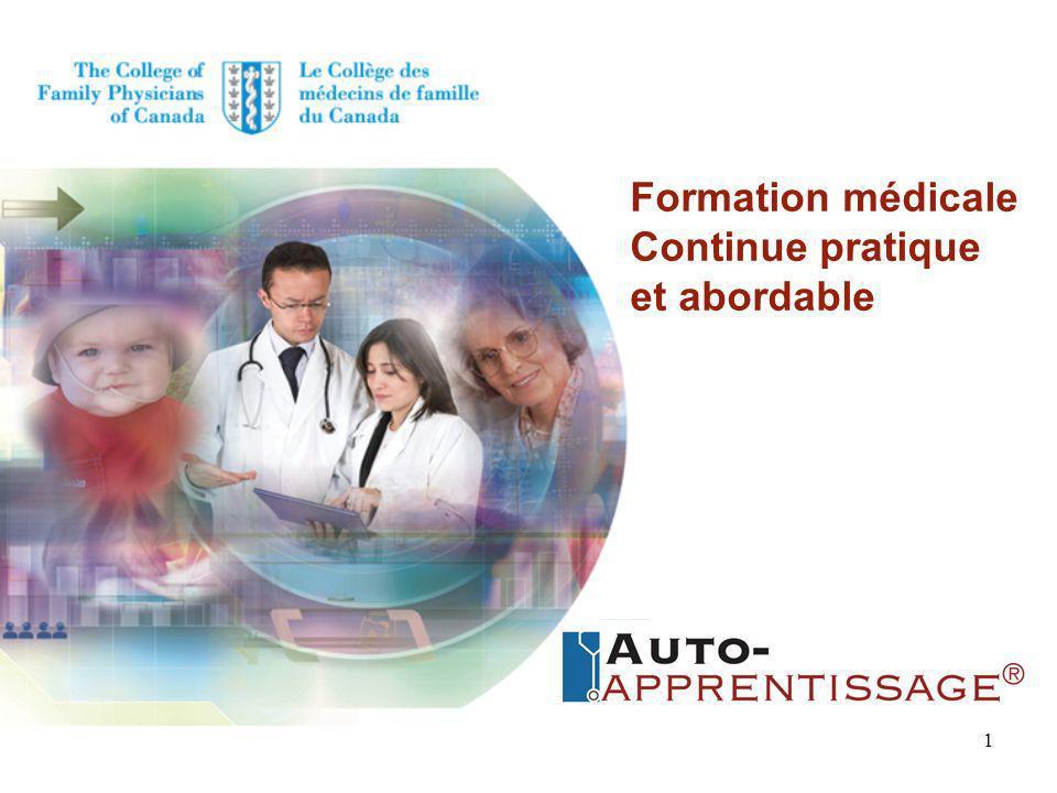 formation medicale canada