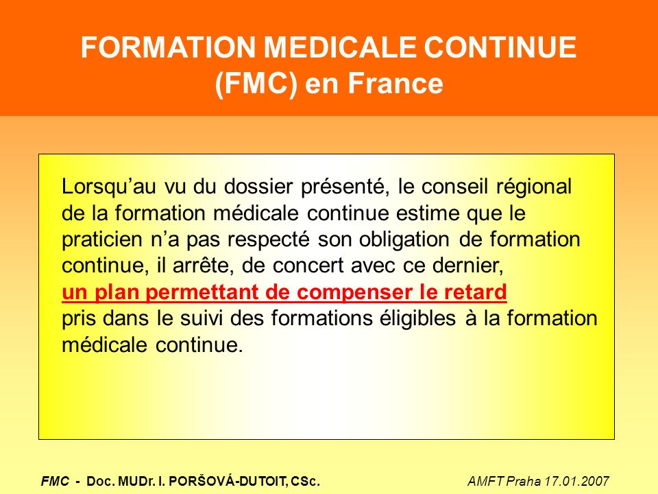 formation medicale continue lille