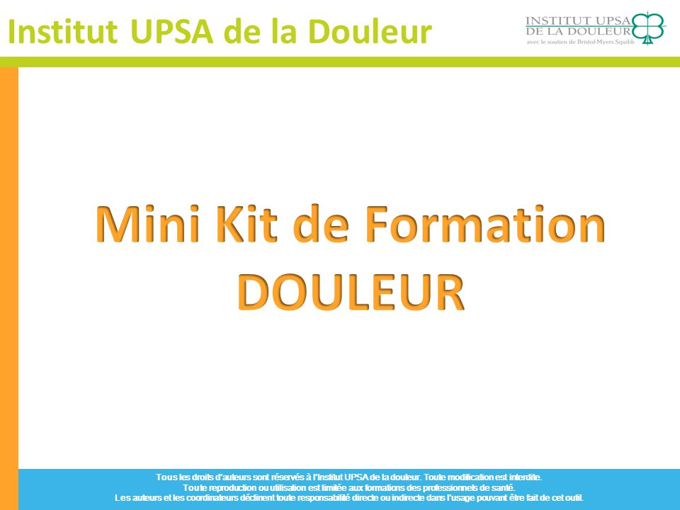 formation medicale douleur