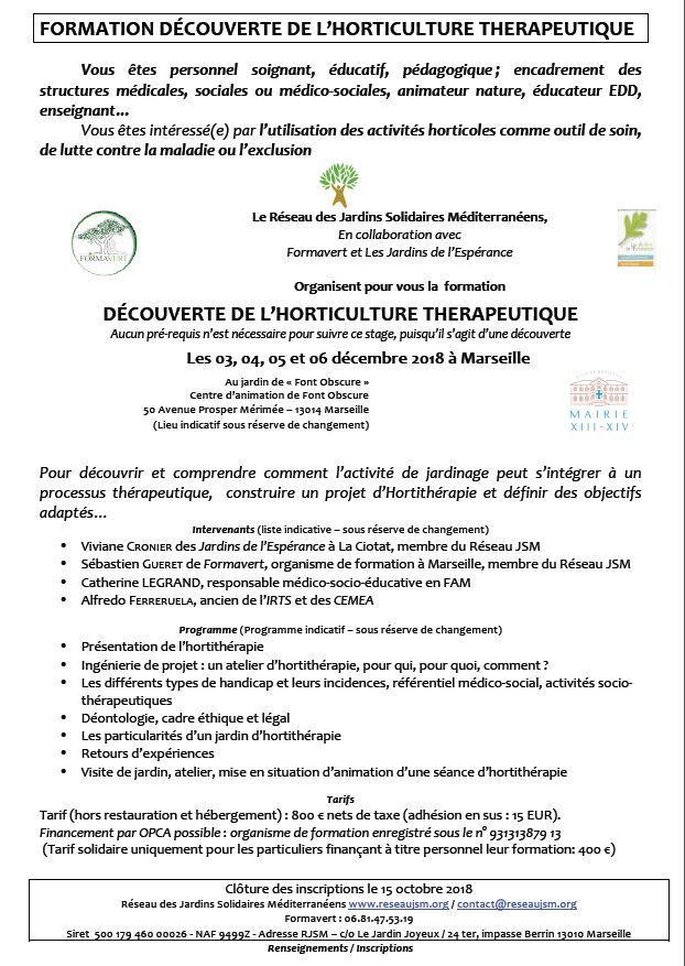formation medicale marseille