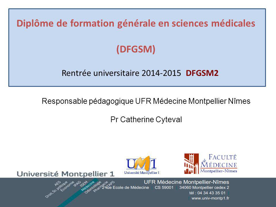 formation medicale montpellier