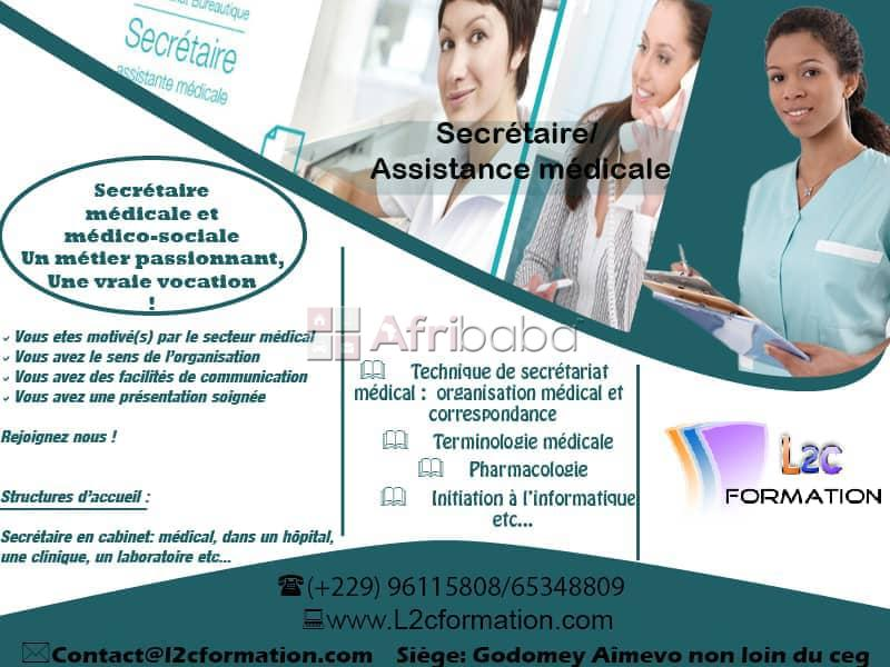 formation secretaire medicale 45