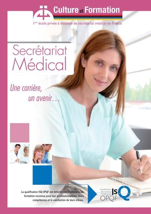 formation secretaire medicale 92