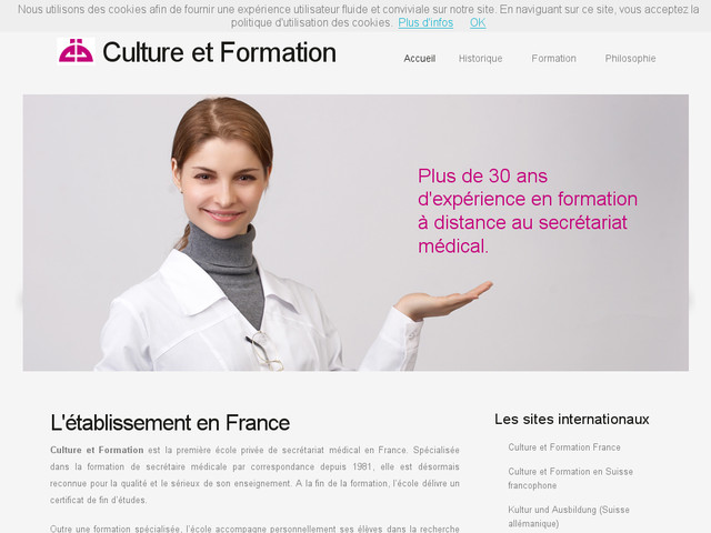 formation secretaire medicale e learning