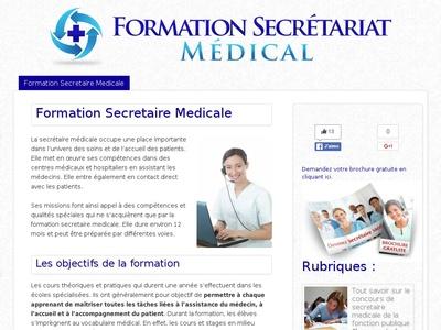 formation secretaire medicale presentielle