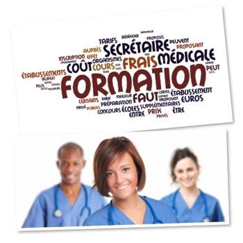 formation secretaire medicale tarif