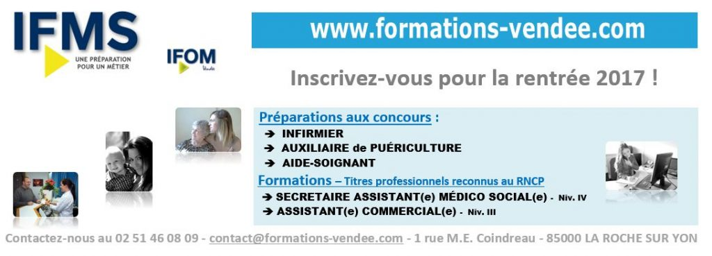 formation secretaire medicale vendee