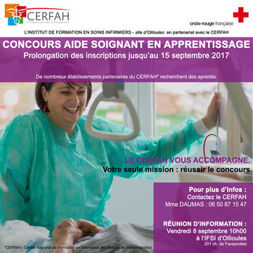 formation aide soignante croix rouge nice