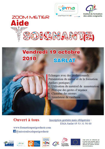formation aide soignante mission locale