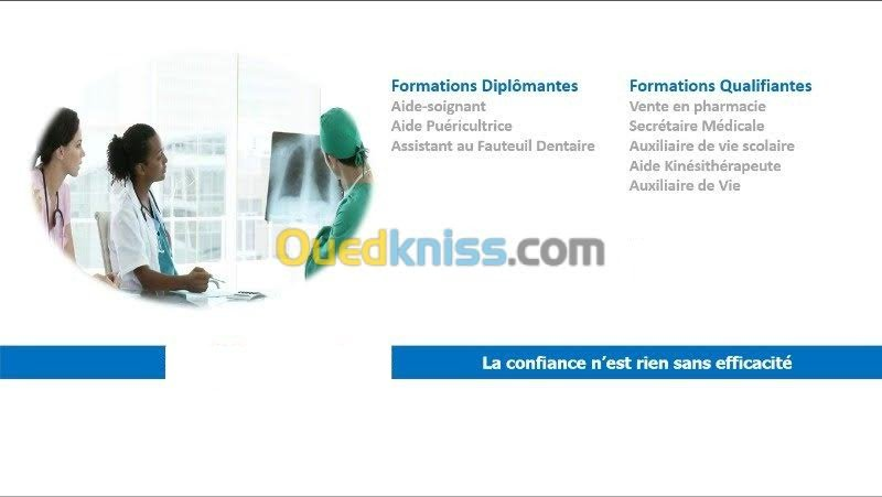 formation aide soignante ouedkniss