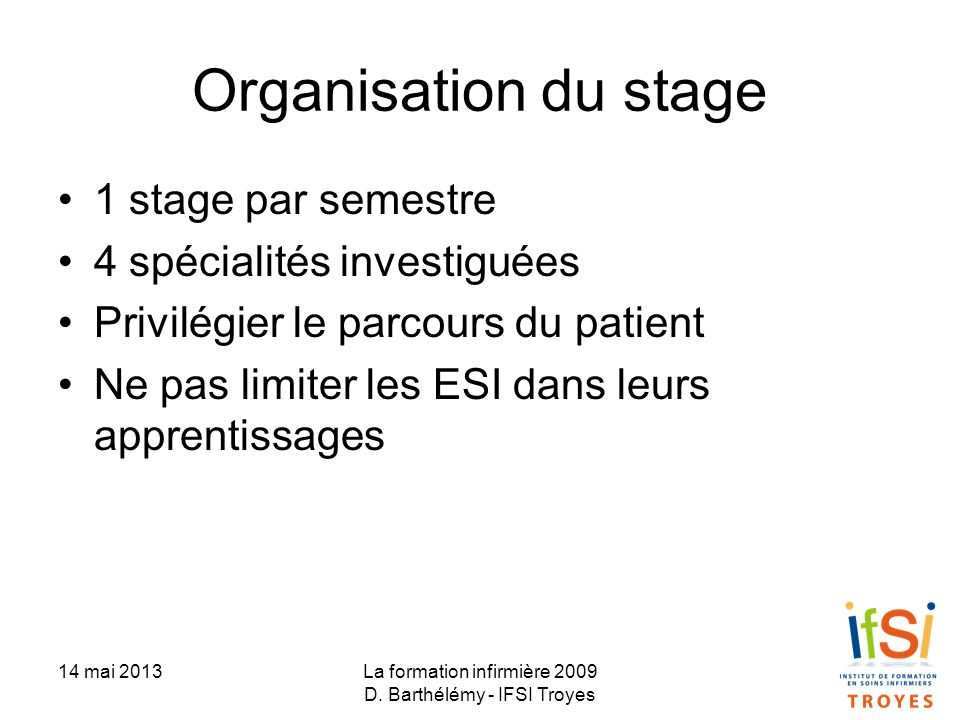 formation infirmiere 4 ans