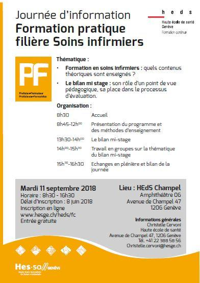 formation infirmiere a geneve