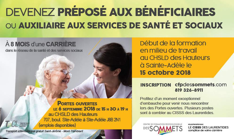 formation infirmiere auxiliaire st-jerome