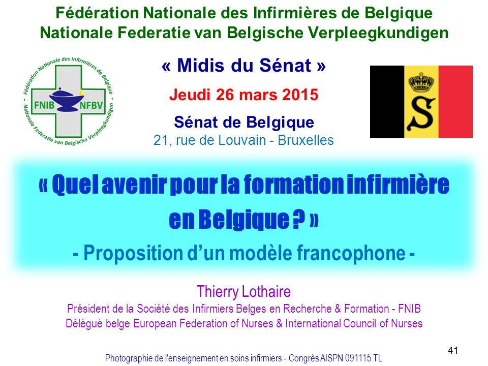 formation infirmiere brevetee bruxelles