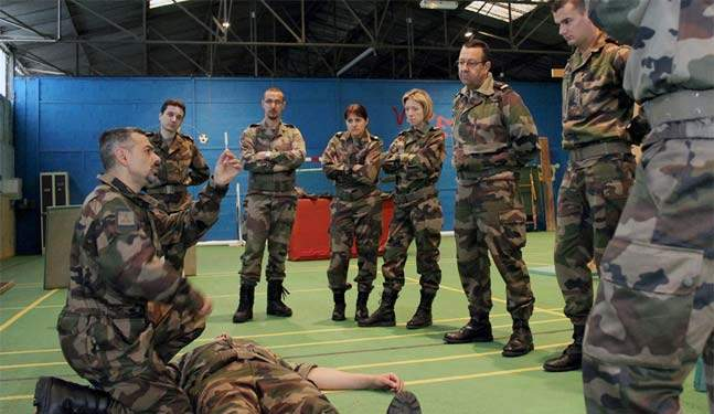 formation infirmiere dans l'armee