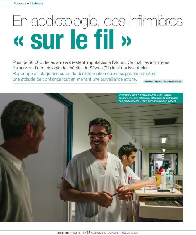 formation infirmiere en addictologie