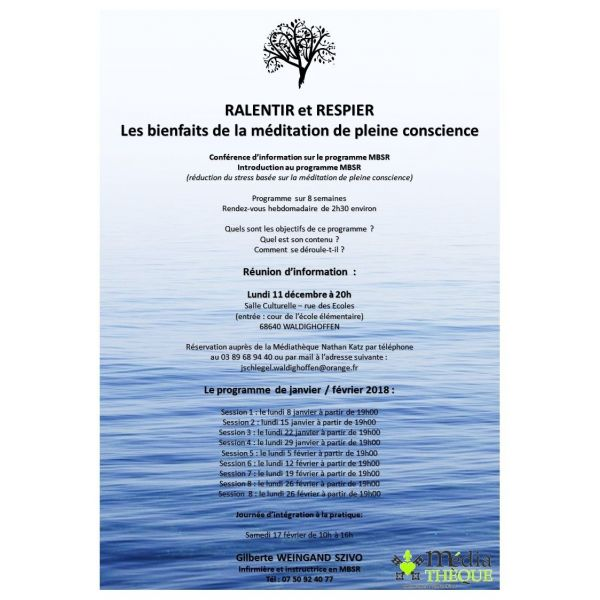 formation infirmiere meditation