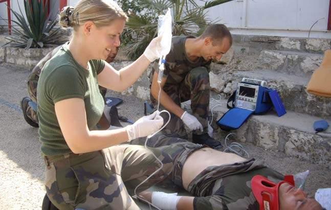 formation infirmiere militaire toulon