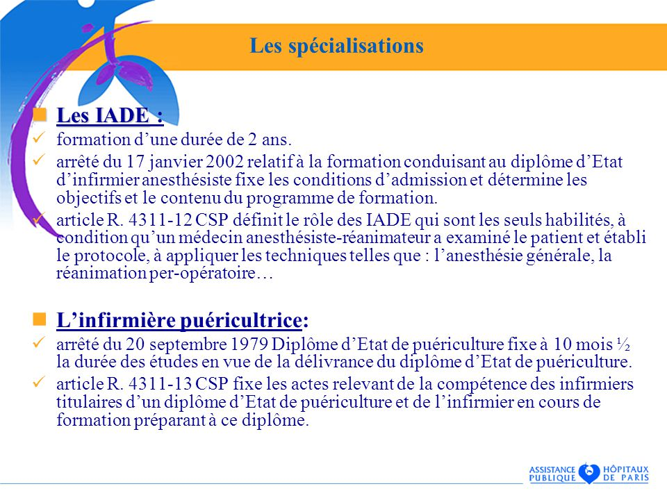 formation infirmiere puericultrice