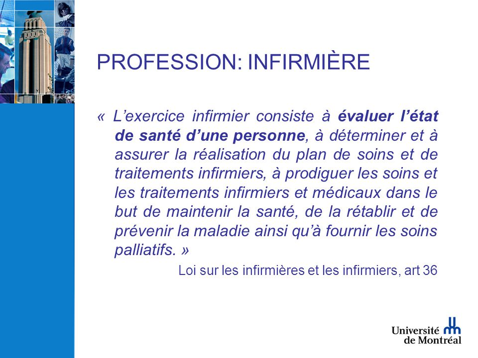 formation infirmiere quebec
