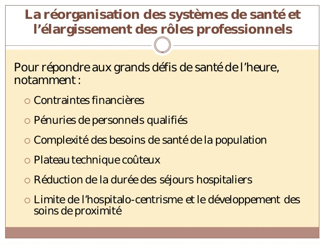 formation infirmiere role elargie
