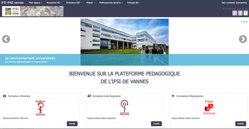 formation infirmiere vannes
