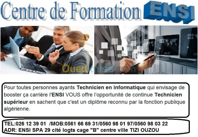 formation medicale sur ouedkniss