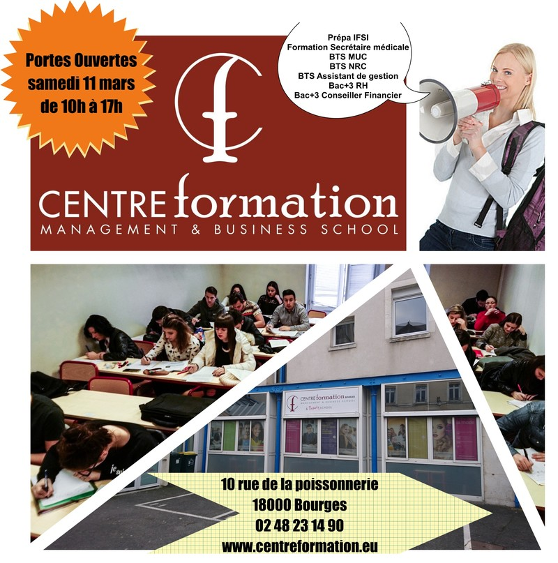 formation secretaire medicale bourges
