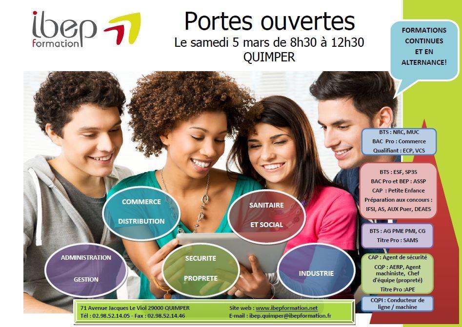 formation secretaire medicale ibep quimper